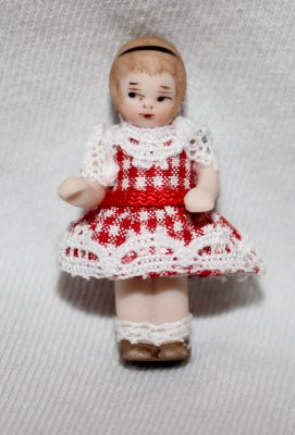 #14A Dressed Patsy: 1-1/4""