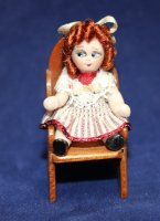 #26 Dressed Googly in Chair - 1-1/2""